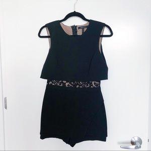 BCBGMAXAZRIA black jumpsuit in size 2.